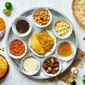 Arabian Tea House Emirati Breakfast Tray
